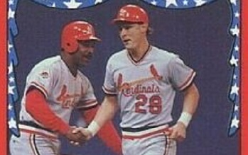 1988 Fleer Dan Driessen and Tom Herr Double-Teamed History