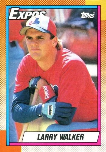 1990 Topps Larry Walker