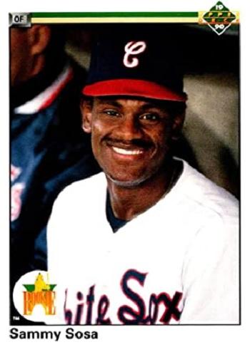 1990 Upper Deck Sammy Sosa Star Rookie