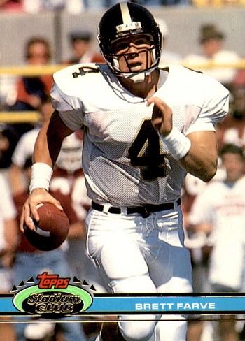 1991 Stadium Club Brett Favre