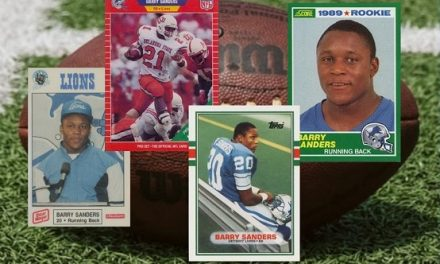 Barry Sanders Rookie Card: A Complete Guide
