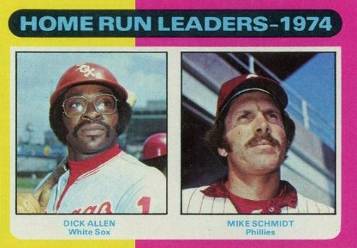 1975 Topps Home Run Leaders Has a Secret