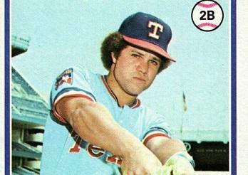 1978 Topps Bump Wills Just a Warmup Toss