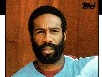 1986 Topps Garry Maddox Knew the Score