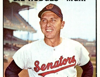 1967 Topps Gil Hodges Sees What Might Have Been