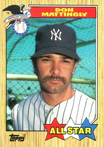 1987 Topps Don Mattingly All-Star