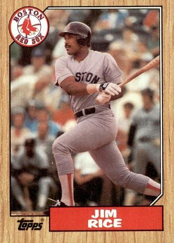 1987 Topps Jim Rice