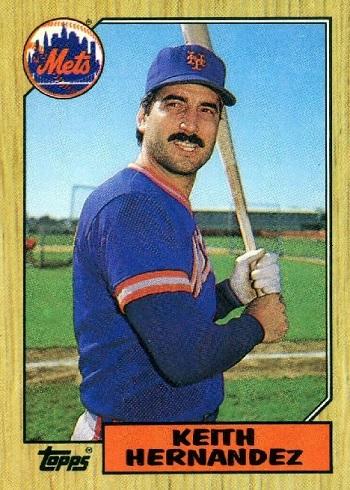 1987 Topps Keith Hernandez
