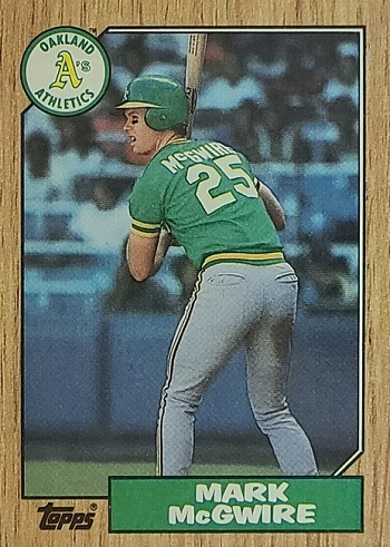 1987 Topps  Mark McGwire