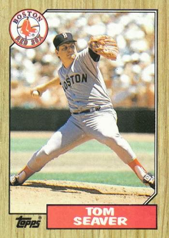 1987 Topps Tom Seaver