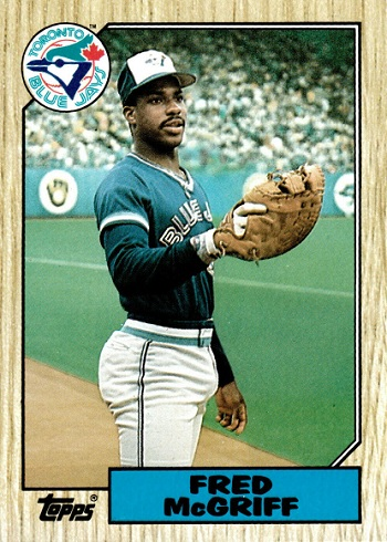 1987 Topps Traded Fred McGriff