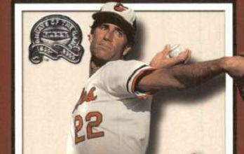 2000 Fleer Greats of the Game Jim Palmer Completed the Comeback