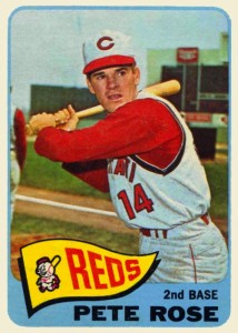 1965 Topps Pete Rose (#207)