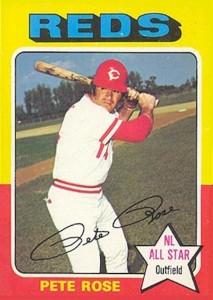 1975 Topps Pete Rose (#320)