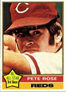 1976 Topps Pete Rose (#240)