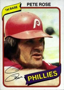 1980 Topps Pete Rose (#540)