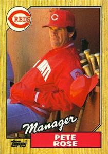 1987 Topps Pete Rose (#393)